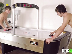 High Stakes Air Hockey