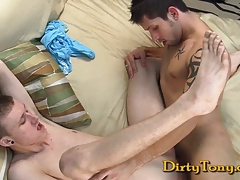 Hot Twink Nailed Raw