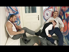 Hot Twink Getting Fucked Hard From 2 Guys