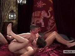 Andy Taylor, Kody Knight, Blake Mitchell & Brad Chase (Desert Fucking)