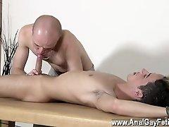 Gay porn Dom fellow Kieron Knight has a fabulous youthfull twink to play