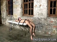 Gay guy shitting while being anal fucked Two immensely strung up