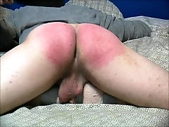 Damien gets another hard, bare ass spanking punishment