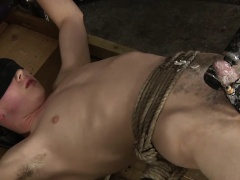 Eli is an adorable young twink, totally smooth and with a