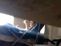 roomie caught wanking