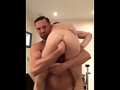 Father Fists His Son's Hole