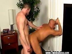Big gay cook Colleague Butt Banging!