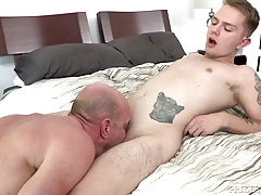 DylanLucas Stepdad Punishes Son with Big Cock