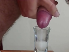 Shooting loads into shot glasses and other cups