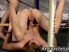 Strip bondage gay home made Beaten And Pummeled To A Cum Load