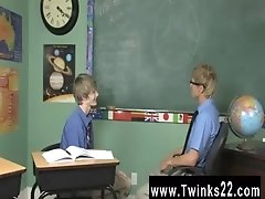 Gay video He demonstrates by stuffing his teacher&#039_s man rod in his