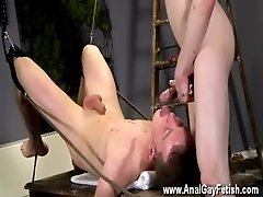 Twink sex That&#039_s what Brett is faced with in this domination session,