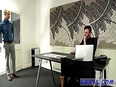 Hot gay scene Deacon is a bit of an office slut, but that&#039_s okay by