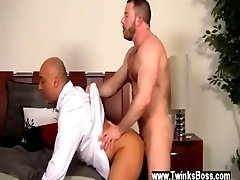Free videos of gay men having first and second Colleague Butt Banging!