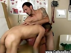 Hot twink scene Dr. Geo called in his next patient and was more than