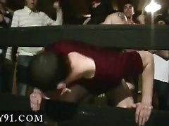 College boy stripped by friends and brothers suck cock gay WOW, this