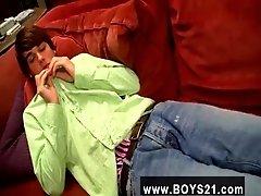 Armpit hair boys gay tube Cute Twink Jizz With Brady Heinze