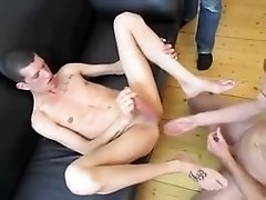 Dad Makes Young Fit Boy Cum Three Times