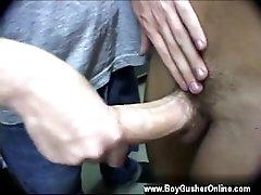 Teenagers making gay porn Jaime Jarret - scorching boy!